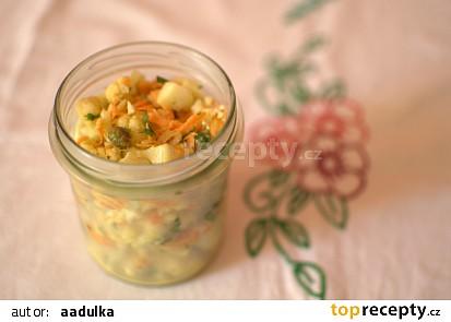 Květákový salát s mrkví