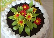 Mandarinkový dortík se šlehačkovým krémem