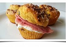 Muffiny z kukuřičné mouky