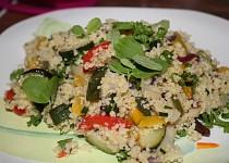 Pečená zelenina s kuskusem