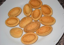 Ruské ořechy III. - těsto  s majonézou