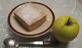 Skořicový jablkovník bez lepku, mléka a vajec