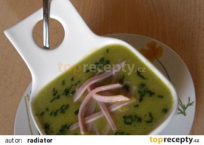 Studená krémová cuketová polévka