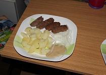 Sýrové čevabčiči