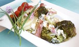 Zapékané brambory s brokolicí
