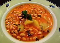 Brynzová polévka se sójou