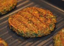 Čočkové burgery (Scott Jurek) - vegan