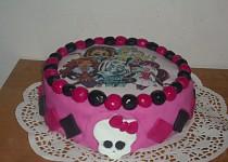 Dort  Monster High s jedlým papírem