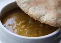 Hrachová polévka s vůní římského kmínu
