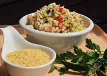 Hrnickovy salat Tabbouleh