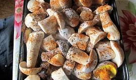 Kadlíkovy pečené hříbky