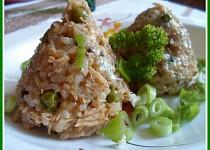 Lehké rizoto z krůtího masa a vývaru