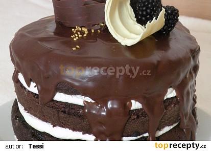 Naked barrel cake - nahý dort
