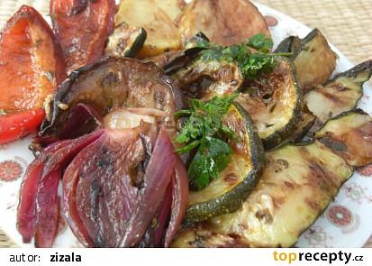 Naložená grilovaná zelenina