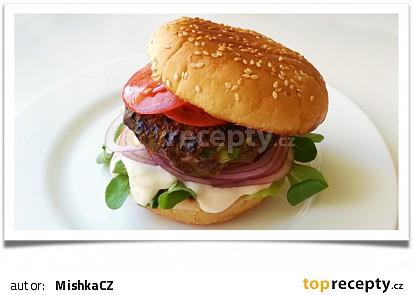 Nejlepší hovězí burger (tvrdí Dita P.)