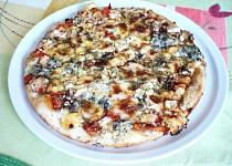 Pizza Čtyři druhy sýrů