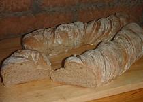 Rustikálny ždímaný chléb