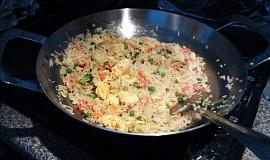 Čínská smažená rýže na curry - videoškola