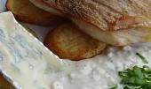 Štika se sýrovou omáčkou Président Le Bleu