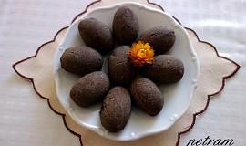 Teffovo-karobové hromádky se semínky bez lepku, mléka a vajec