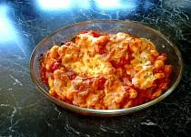 Zapečené gnocchi s mozzarellou a bazalkou