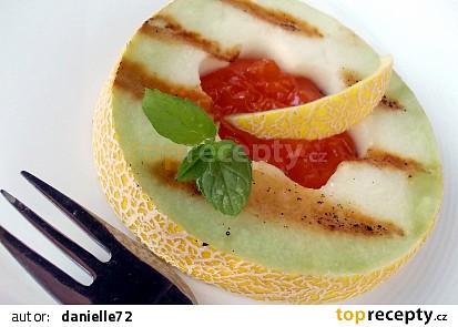 Meloun Galia v pomerančovo-zázvorové marinádě