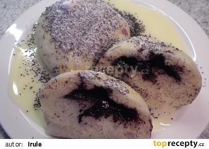 Alpský knedlík s krémem