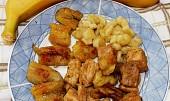 Banánové vepřové maso