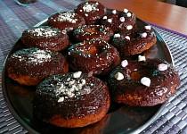 Bezlepkové jablečné donuty
