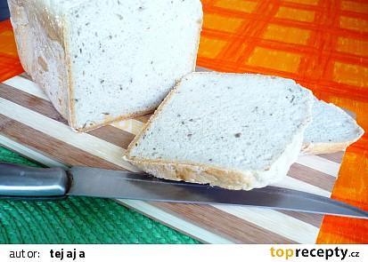 Chléb  z domácí pekárny - vlastní recept