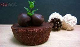 Čokoládový košíček
