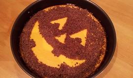 Halloweenský dýňový koláč