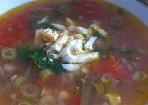 Hovězí polévka - falešná želví