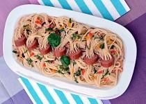 Hrátky se špagetami: Pobavte stolovníky chobotnicí či ptačím hnízdem