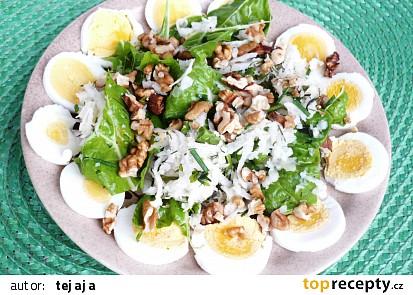 Kedlubnovo-mangoldový salát