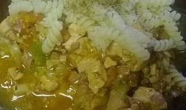 Kuřecí se zeleninou a  žampiony