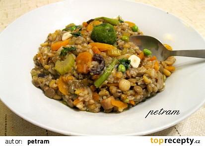 Luštěninovo-zeleninová směs