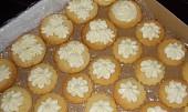 Máslové krémové terčíky