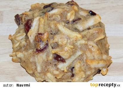 Ovesné sušenky s jablky
