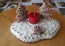 Perníkové svícny