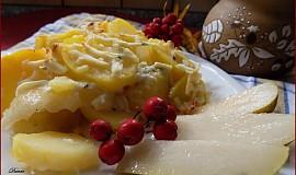 """""""Plesnivé"""" brambory s hruškou"""