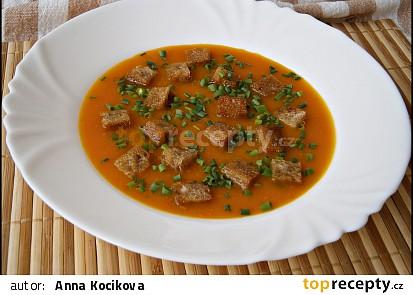 Podzimní dýňová polévka