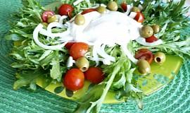 Rajčatovo-salanový salát