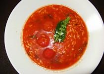 Rajská polévka - bez cukru, přesto šmakózní