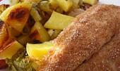 Ryba v žitném obalu