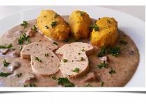 Šmakoun na hříbkách