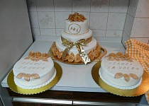 Svatební dorty pro Toníka a Lucku