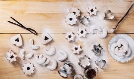 Bezlepkové vanilkové rohlíčky od Nominalu