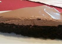 Bezlepkový dort s krémem šmakoun