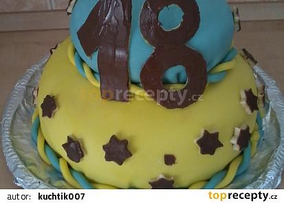 Dvoupatrový dort 18
